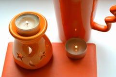 Πορτοκαλιά αντικείμενα Στοκ εικόνα με δικαίωμα ελεύθερης χρήσης
