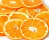 Πορτοκαλιά δαχτυλίδια φετών Στοκ Φωτογραφίες