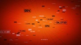Πορτοκαλιά αύξηση συνδέσεων δικτύων ελεύθερη απεικόνιση δικαιώματος