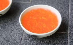 Πορτοκαλιά ζελατίνα Στοκ φωτογραφίες με δικαίωμα ελεύθερης χρήσης