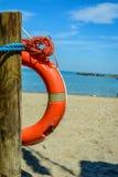 Πορτοκαλιά διάσωση lifebuoy Στοκ φωτογραφία με δικαίωμα ελεύθερης χρήσης
