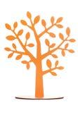 Πορτοκαλιά διακόσμηση δέντρων Στοκ φωτογραφία με δικαίωμα ελεύθερης χρήσης