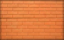 Πορτοκαλιά καφετιά σύσταση τουβλότοιχος Στοκ Εικόνα