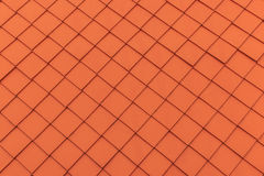πορτοκαλιά κεραμίδια στεγών αφηρημένη ανασκόπηση Στοκ Εικόνα