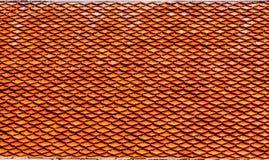 πορτοκαλιά κεραμίδια στεγών Στοκ εικόνα με δικαίωμα ελεύθερης χρήσης