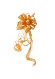 πορτοκαλιά κορδέλλα Στοκ Εικόνες