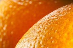 Πορτοκαλιά μακροεντολή φρούτων. στοκ εικόνες