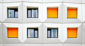 Πορτοκαλιά παραθυρόφυλλα Στοκ Εικόνες