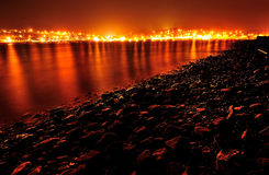 Πορτοκαλιά πυράκτωση Στοκ φωτογραφία με δικαίωμα ελεύθερης χρήσης