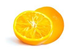 Πορτοκαλιά πλήρης επιφάνεια τοπ άποψης Στοκ Φωτογραφία