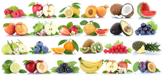 Πορτοκαλιά σταφύλια λ αχλαδιών μπανανών μήλων μήλων συλλογής φρούτων φρούτων Στοκ φωτογραφίες με δικαίωμα ελεύθερης χρήσης