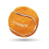 Πορτοκαλιά σφαίρα αντισφαίρισης ελεύθερη απεικόνιση δικαιώματος