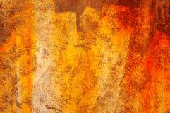 Πορτοκαλιά σύσταση υποβάθρου grunge αφηρημένη Στοκ Εικόνα