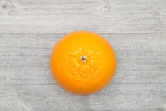 Πορτοκαλιά τοπ άποψη Στοκ Εικόνα
