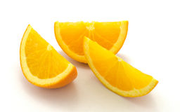 Πορτοκαλιά φέτα Στοκ εικόνα με δικαίωμα ελεύθερης χρήσης