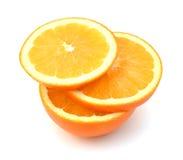 Πορτοκαλιά φρούτα περικοπών Στοκ φωτογραφία με δικαίωμα ελεύθερης χρήσης