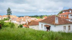 Πορτοκαλιές στέγες της Πορτογαλίας, Sintra στοκ φωτογραφία με δικαίωμα ελεύθερης χρήσης