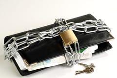 πορτοφόλι αλυσίδων Στοκ φωτογραφία με δικαίωμα ελεύθερης χρήσης