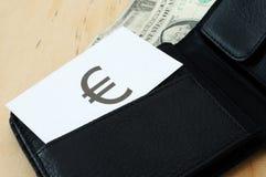 πορτοφόλι επαγγελματι&kap Στοκ φωτογραφία με δικαίωμα ελεύθερης χρήσης