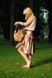 πορτοφόλι κοριτσιών Στοκ εικόνα με δικαίωμα ελεύθερης χρήσης