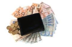 πορτοφόλι λογαριασμών Στοκ φωτογραφία με δικαίωμα ελεύθερης χρήσης