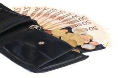 πορτοφόλι λογαριασμών Στοκ φωτογραφίες με δικαίωμα ελεύθερης χρήσης