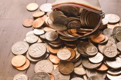 Πορτοφόλι νομισμάτων γυναικών Στοκ Φωτογραφίες