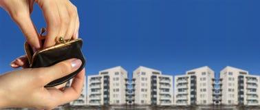 πορτοφόλι χεριών Στοκ φωτογραφίες με δικαίωμα ελεύθερης χρήσης
