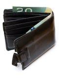 πορτοφόλι δέρματος Στοκ εικόνα με δικαίωμα ελεύθερης χρήσης