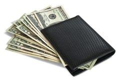 πορτοφόλι δολαρίων Στοκ Εικόνες