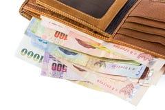 Πορτοφόλι της ευτυχίας Στοκ εικόνα με δικαίωμα ελεύθερης χρήσης