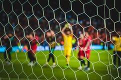 """ΠΟΡΤΟ, PORTUGLAL - 9 Ιουνίου 2019: Ο Κριστιάνο Ρονάλντο και οι σύντροφοι ομάδων της Πορτογαλίας \ """"s γιορτάζουν τη νίκη τελικού έ στοκ φωτογραφίες"""