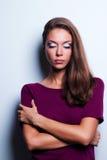 Πορτρέτα γυναικών Makeup Στοκ φωτογραφία με δικαίωμα ελεύθερης χρήσης
