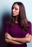 Πορτρέτα γυναικών Makeup Στοκ Φωτογραφία