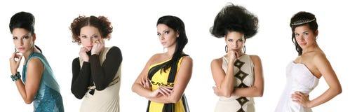 πορτρέτα μόδας στοκ εικόνα με δικαίωμα ελεύθερης χρήσης