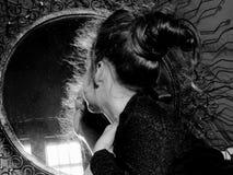 Πορτρέτο λίγης κυρίας Στοκ εικόνες με δικαίωμα ελεύθερης χρήσης