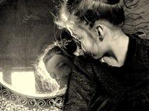 Πορτρέτο λίγης κυρίας Στοκ φωτογραφίες με δικαίωμα ελεύθερης χρήσης