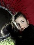 Πορτρέτο λίγης κυρίας Στοκ Φωτογραφίες