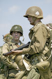 Πορτρέτο αμερικανικό Infantryman ΓΠ Joe, Στοκ φωτογραφίες με δικαίωμα ελεύθερης χρήσης