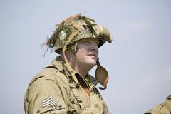Πορτρέτο αμερικανικό Infantryman ΓΠ Joe, Στοκ εικόνες με δικαίωμα ελεύθερης χρήσης