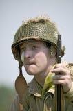 Πορτρέτο αμερικανικό Infantryman ΓΠ Joe, Στοκ εικόνα με δικαίωμα ελεύθερης χρήσης