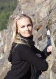 Πορτρέτο από το βράχο Στοκ εικόνα με δικαίωμα ελεύθερης χρήσης