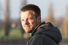 Πορτρέτο ατόμων στο άσπρο κλίμα Στοκ Εικόνες