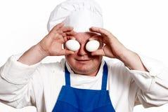 πορτρέτο αυγών μαγείρων Στοκ φωτογραφία με δικαίωμα ελεύθερης χρήσης