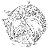 Πορτρέτο αλόγων Στοκ Φωτογραφίες