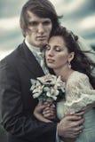 Πορτρέτο γαμήλιων ζευγών Στοκ Εικόνα