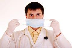 πορτρέτο γιατρών Στοκ εικόνες με δικαίωμα ελεύθερης χρήσης
