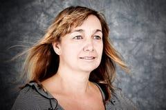 Πορτρέτο γυναικών στοκ εικόνες με δικαίωμα ελεύθερης χρήσης