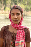 Πορτρέτο γυναικών Andaman Στοκ Εικόνα