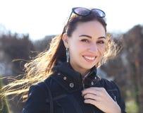 Πορτρέτο γυναικών Brunette στοκ φωτογραφίες με δικαίωμα ελεύθερης χρήσης
